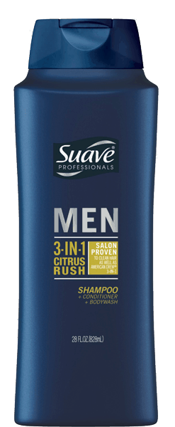 $1.00 for Suave® Men. Offer available at Walmart.