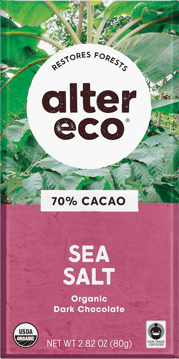 $0.75 for Alter Eco Organic Chocolate Bars (expiring on Saturday, 01/23/2021). Offer available at multiple stores.