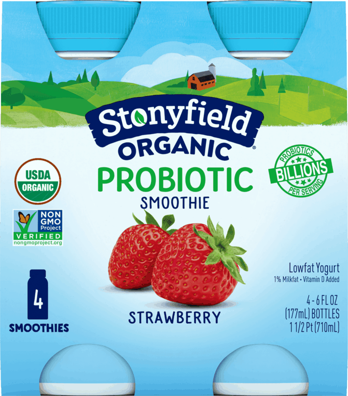 $1.00 for Stonyfield Core Drinks (expiring on Friday, 09/11/2020). Offer available at multiple stores.