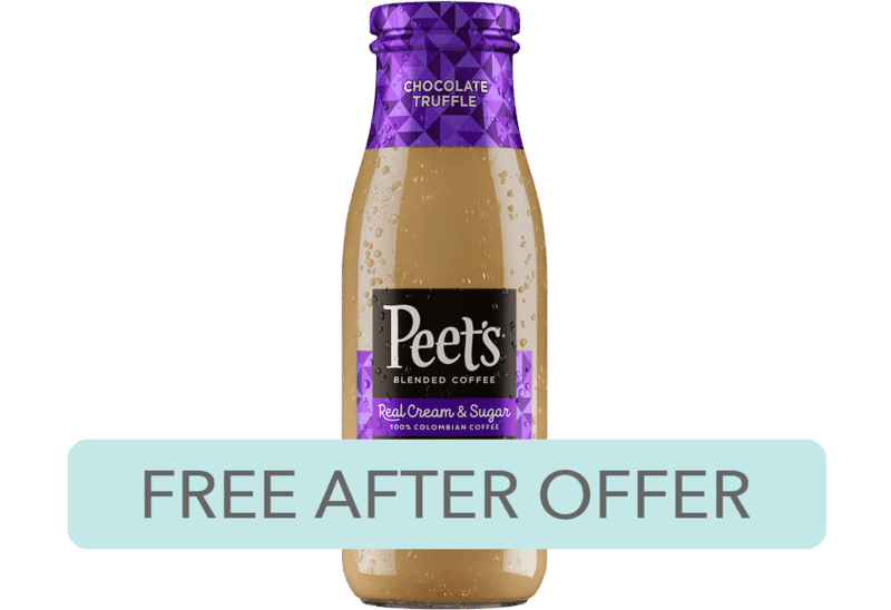 $2.70 for Peet's Blended Coffee. Offer available at multiple stores.