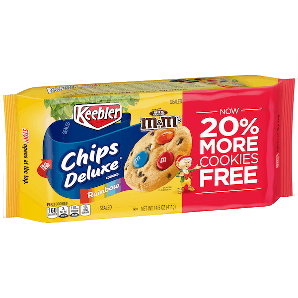 $0.50 for Keebler® Chips Deluxe® Cookies (expiring on Saturday, 11/02/2019). Offer available at Walmart.