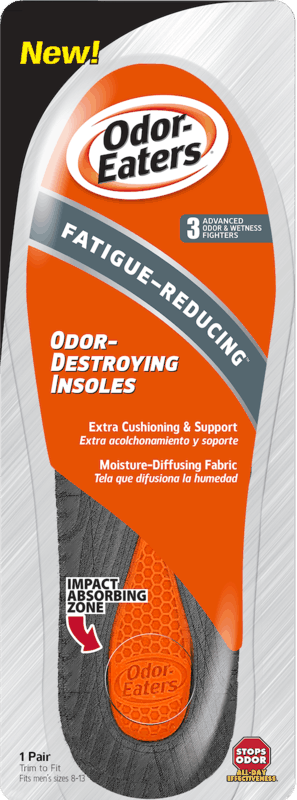 $1.00 for Odor-Eaters Fatigue Reducing Odor-Destroying Insoles (expiring on Thursday, 07/02/2020). Offer available at multiple stores.