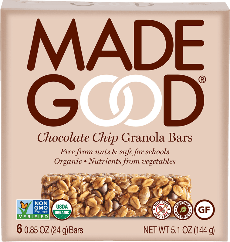 $1.00 for MadeGood® Granola Bars. Offer available at Target.