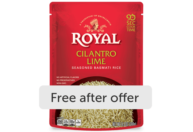 $2.00 for Royal Ready to Heat Rice (expiring on Wednesday, 12/02/2020). Offer available at H-E-B.