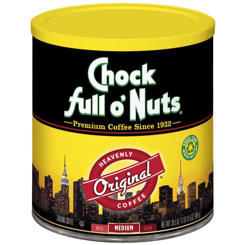 $2.00 for Chock full o'Nuts Ground Coffee. Offer available at Walmart, Walmart Pickup & Delivery.