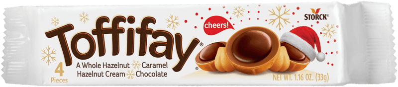 $0.50 for Toffifay Holiday Pack (expiring on Tuesday, 12/31/2019). Offer available at Walmart.