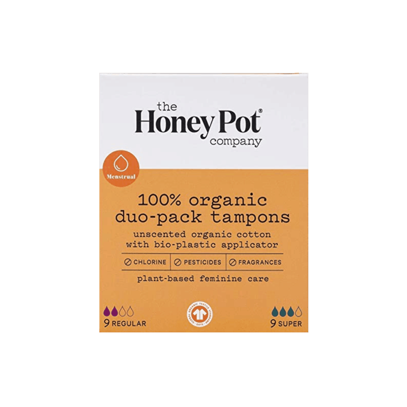 $1.00 for The Honey Pot Co. Tampons (expiring on Wednesday, 12/30/2020). Offer available at multiple stores.