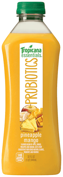$1.00 for Tropicana Essentials® Probiotics (expiring on Friday, 02/15/2019). Offer available at Walmart.