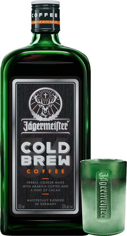$5.00 for Jägermeister Cold Brew Coffee (expiring on Tuesday, 11/30/2021). Offer available at Any Restaurant, Any Bar.