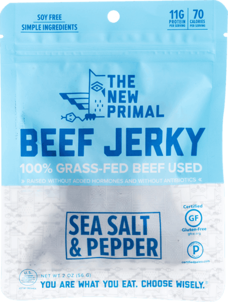 $1.00 for The New Primal Jerky (expiring on Monday, 12/10/2018). Offer available at multiple stores.