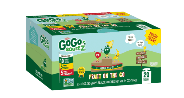 $0.50 for GoGo squeeZ® Fruit (expiring on Friday, 06/07/2019). Offer available at multiple stores.