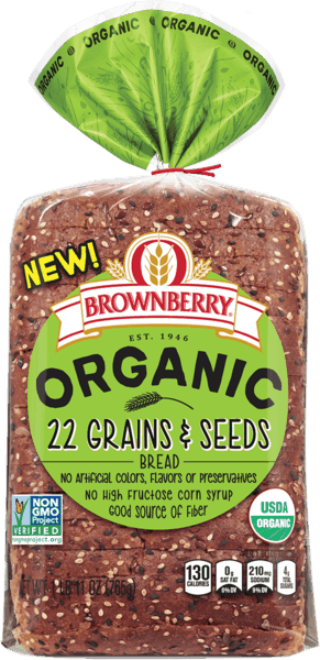 $0.25 for Brownberry® Organic Bread (expiring on Tuesday, 12/31/2019). Offer available at multiple stores.