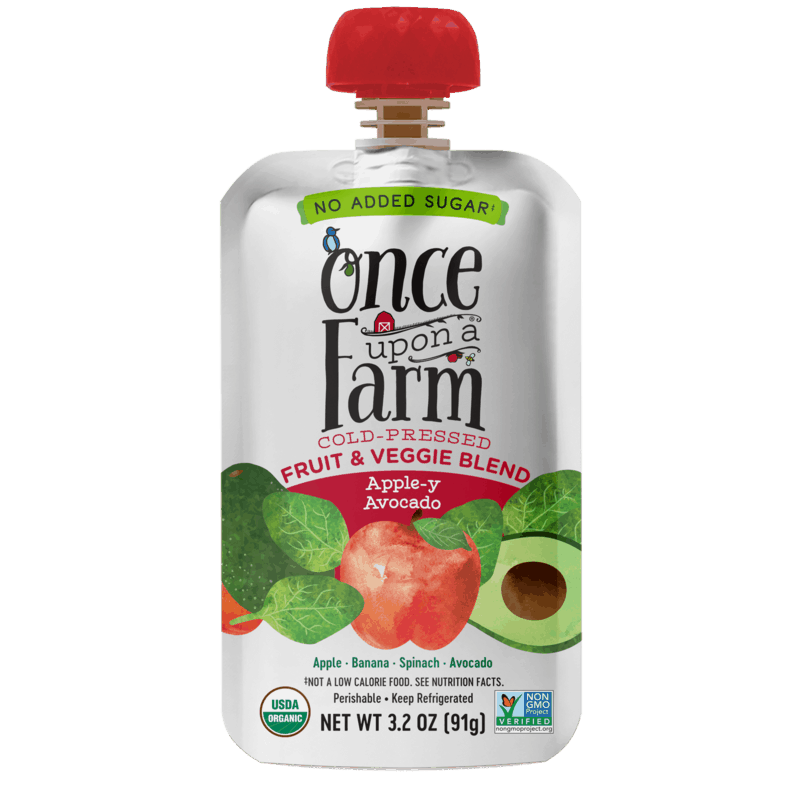 $1.00 for Once Upon a Farm Fruit & Veggie Blend Pouch (expiring on Monday, 11/30/2020). Offer available at Target, Target Online.