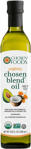 $1.50 for Chosen Foods® Chosen Blend Oil (expiring on Monday, 09/10/2018). Offer available at multiple stores.