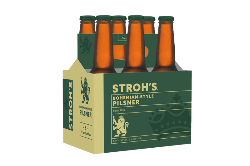 $2.00 for Stroh's Bohemian Pilsner (expiring on Monday, 07/20/2020). Offer available at multiple stores.