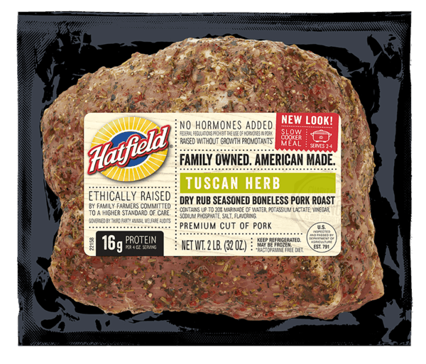 $1.50 for Hatfield® Pork Roast (expiring on Saturday, 06/09/2018). Offer available at ShopRite, Redner's Markets, ACME, PriceRite, Stew Leonard's.