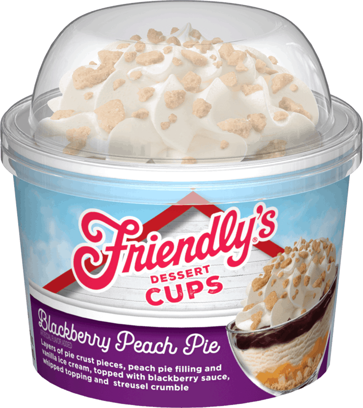 $1.00 for Friendly's® Dessert Cups (expiring on Sunday, 02/02/2020). Offer available at multiple stores.