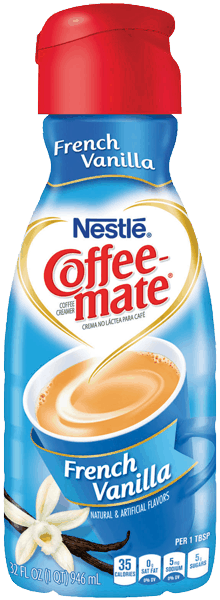 $0.75 for NESTLÉ® COFFEE-MATE® Coffee Creamer (expiring on Wednesday, 05/24/2017). Offer available at Hannaford, Food Lion.