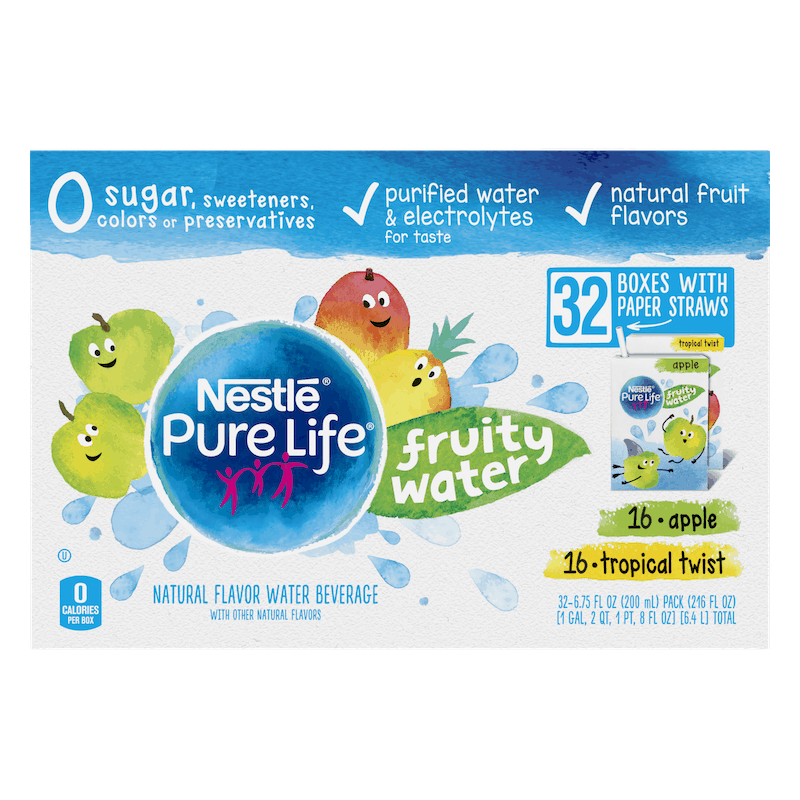 $2.50 for Nestle Pure Life Fruity Water (expiring on Tuesday, 03/02/2021). Offer available at multiple stores.