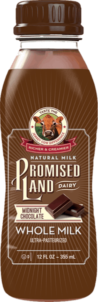 $1.25 for Promised Land® Dairy Milk - 12 oz. (expiring on Thursday, 02/28/2019). Offer available at Walmart.