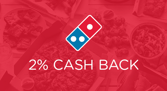 $0.00 for Domino's (expiring on Saturday, 08/01/2020). Offer available at Domino's.