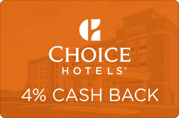 $0.00 for Choice Hotels (expiring on Wednesday, 04/01/2020). Offer available at Choice Hotels.