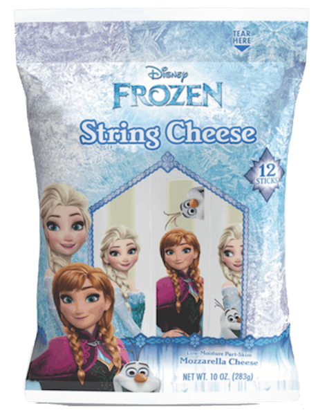 $0.50 for Disney® Frozen® Cheese (expiring on Saturday, 03/02/2019). Offer available at multiple stores.