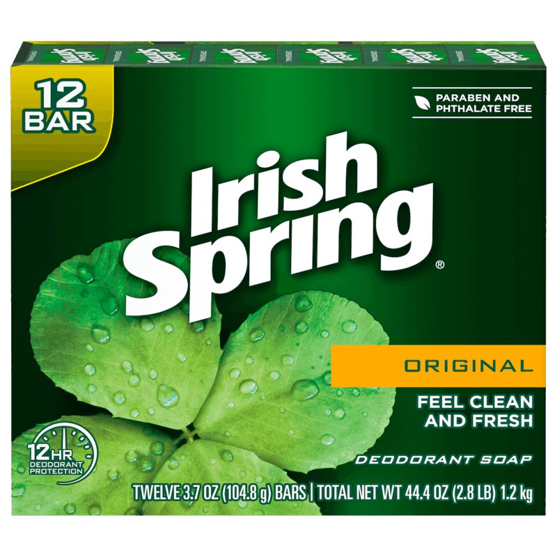 $1.00 for Irish Spring® Bar Soap. Offer available at Walmart, Walmart Pickup & Delivery.