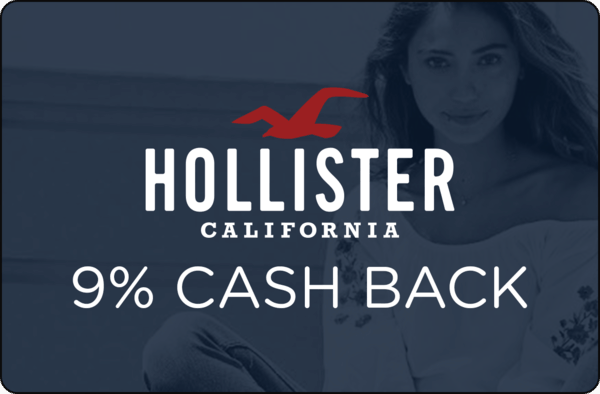 $0.00 for Hollister. Offer available at Hollister.
