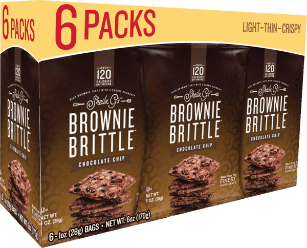 $1.00 for Brownie Brittle™ (expiring on Monday, 07/02/2018). Offer available at King Soopers, City Market, Vitamin Shoppe.