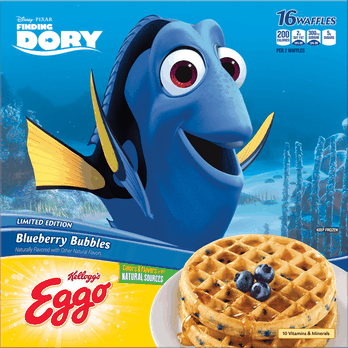 Eggo® Finding Dory Waffles
