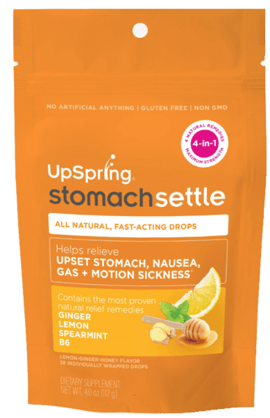 $1.00 for UpSpring Stomach Settle (expiring on Saturday, 03/02/2019). Offer available at Walmart, CVS Pharmacy.