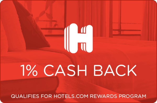$0.00 for Hotels.com (expiring on Wednesday, 07/03/2019). Offer available at Hotels.com.