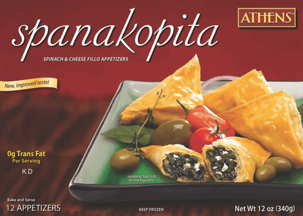 $1.50 for Athens® Foods Appetizers (expiring on Tuesday, 10/02/2018). Offer available at multiple stores.