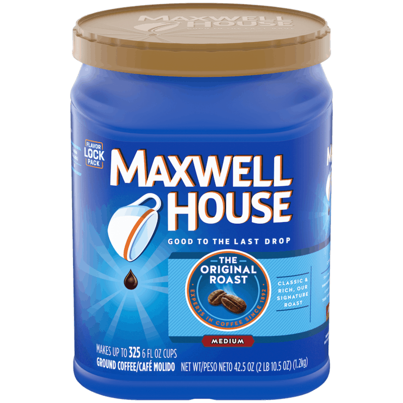 $1.00 for Maxwell House (expiring on Friday, 04/02/2021). Offer available at multiple stores.