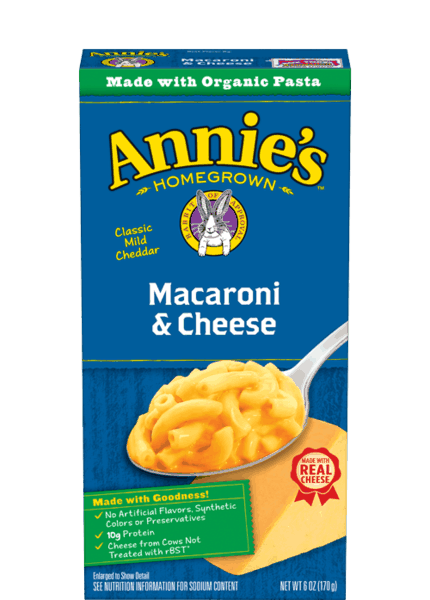 $1.00 for Annie's® Macaroni & Cheese (expiring on Thursday, 05/25/2017). Offer available at WinCo Foods.