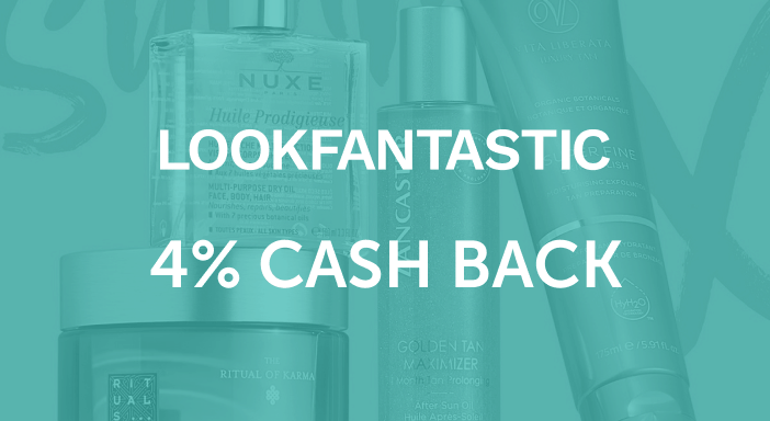 $0.00 for LookFantastic (expiring on Tuesday, 09/30/2025). Offer available at LookFantastic.