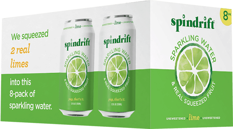 $1.00 for Spindrift® Sparkling Water. Offer available at multiple stores.