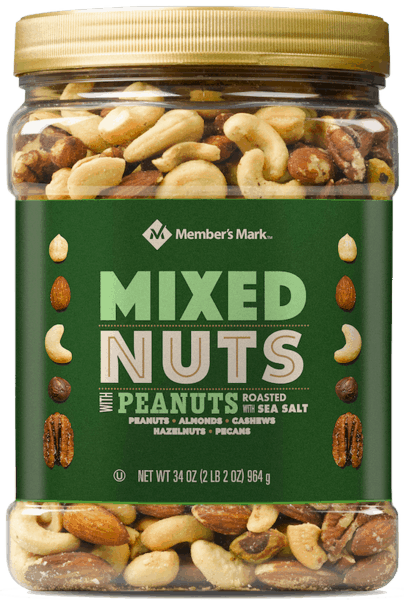 $2.50 for Member's Mark™ Mixed Nuts. Offer available at Sam's Club.
