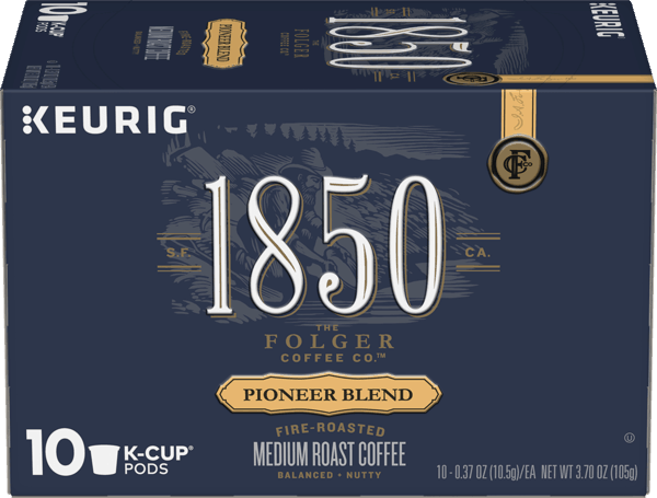 $1.00 for 1850™ Brand Coffee K-Cup® Pods (expiring on Wednesday, 01/02/2019). Offer available at multiple stores.