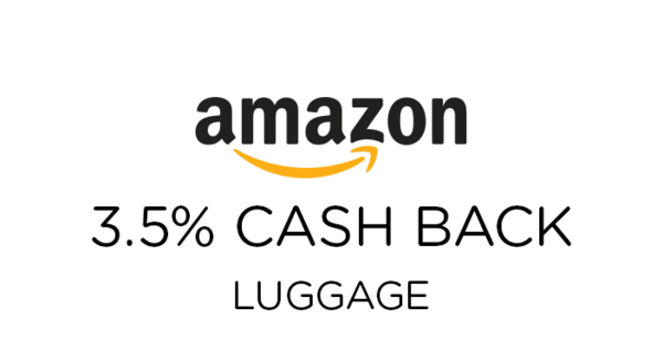 $0.00 for Amazon Luggage (expiring on Tuesday, 01/01/2019). Offer available at Amazon.