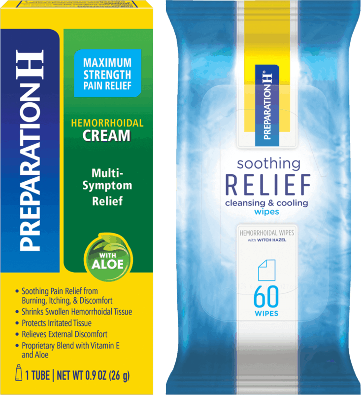 $1.50 for Preparation H (expiring on Sunday, 10/31/2021). Offer available at multiple stores.