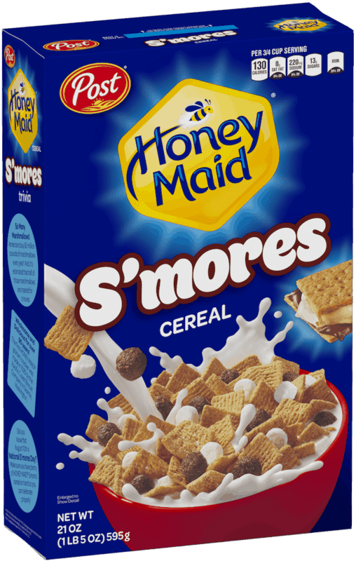 $0.50 for Post® HONEY MAID® S'mores Cereal. Offer available at multiple stores.