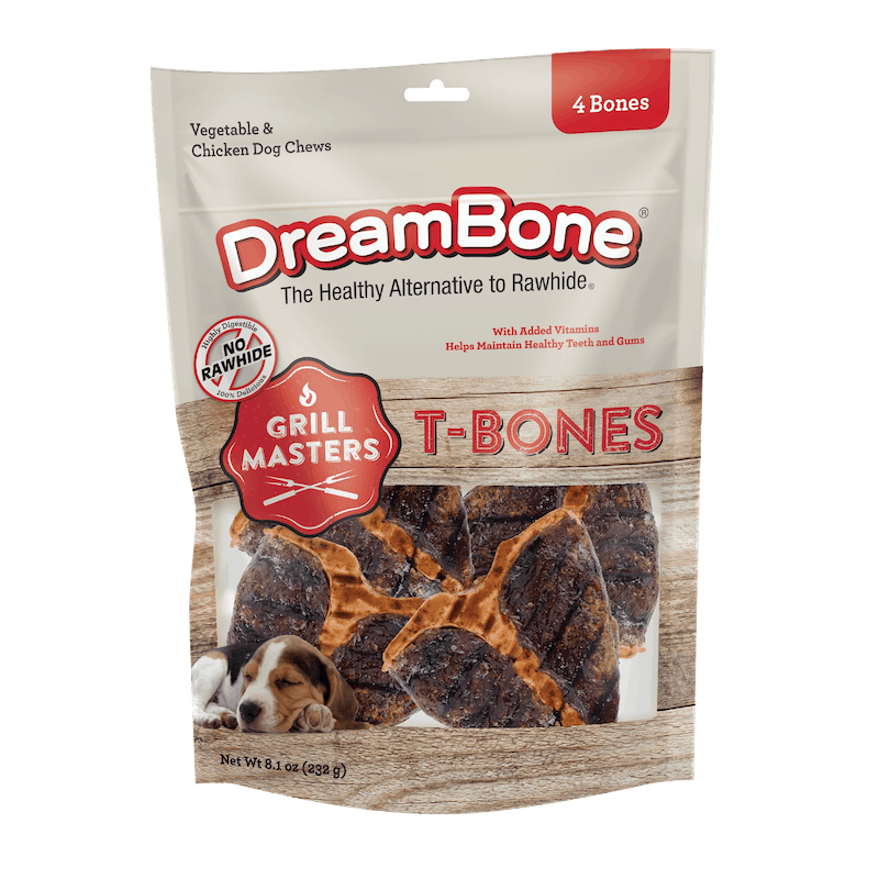 $2.00 for DreamBone Grill Masters T-Bones, Alternative Chews for Dogs (expiring on Wednesday, 09/02/2020). Offer available at Meijer.