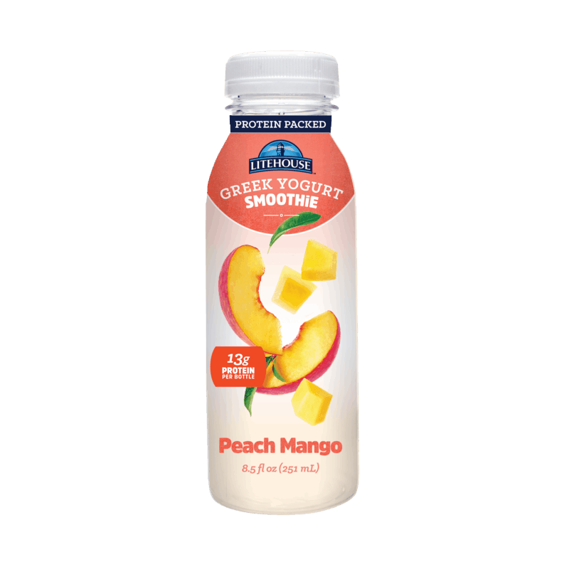 $1.00 for Litehouse Greek Yogurt Smoothies (expiring on Monday, 11/30/2020). Offer available at Safeway.