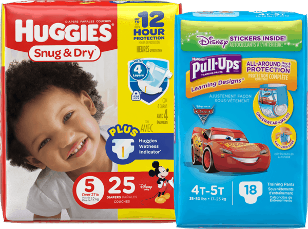$3.00 for Huggies® Diapers, Pull-Ups® Training Pants OR GoodNites® (expiring on Thursday, 11/30/2017). Offer available at Rite Aid.