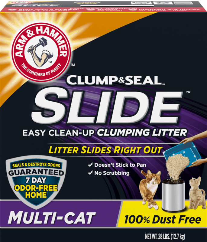$2.00 for ARM & HAMMER™ Cat Litter. Offer available at Walmart.