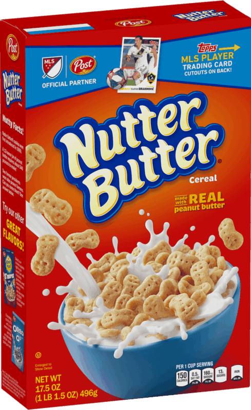 $1.50 for Post® NUTTER BUTTER® Cereal. Offer available at Walmart.