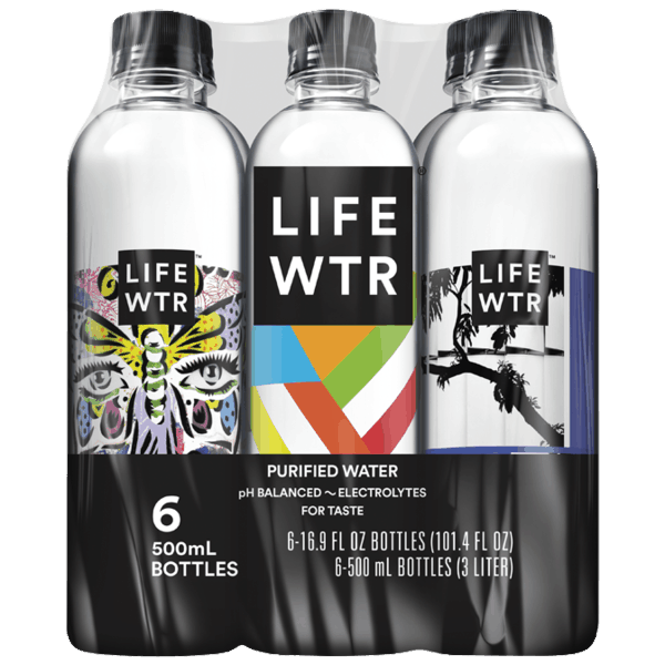 $1.00 for LIFE WTR® (expiring on Wednesday, 09/26/2018). Offer available at multiple stores.