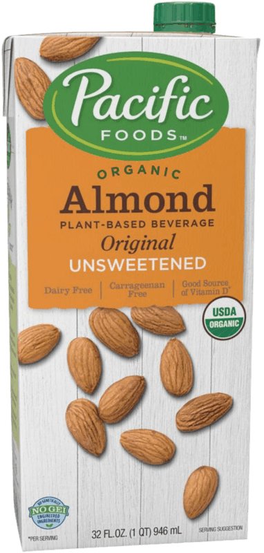 $1.00 for Pacific Foods™ Almond Plant-Based Beverage (expiring on Tuesday, 02/11/2020). Offer available at multiple stores.